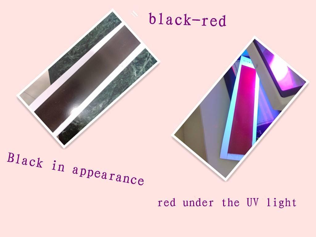 UV fluorescent ink