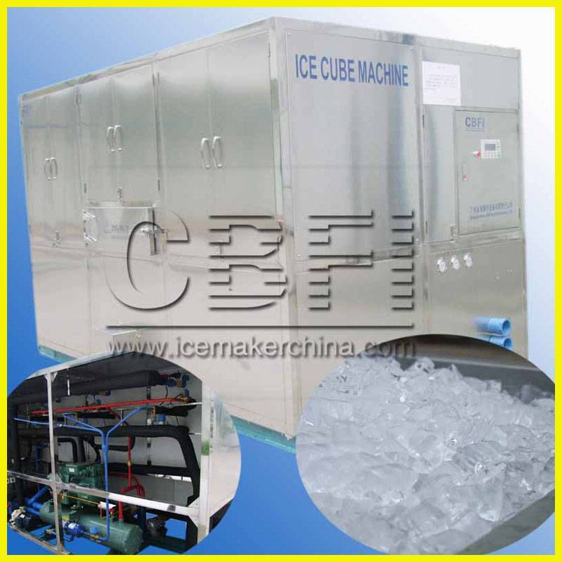 commercial cube ice for cold drink