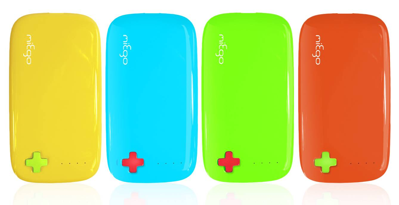 Portable power bank-5400mah