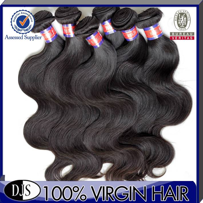Sell virgin malaysian body wave human hair weaving