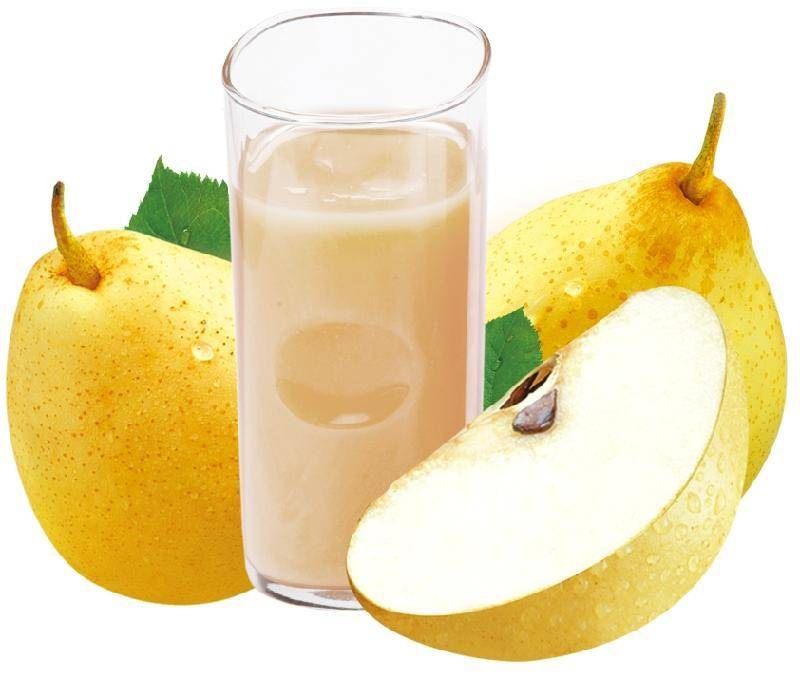 Pear concentrated juice
