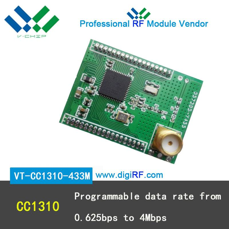 CC1310 low power SOC wireless module