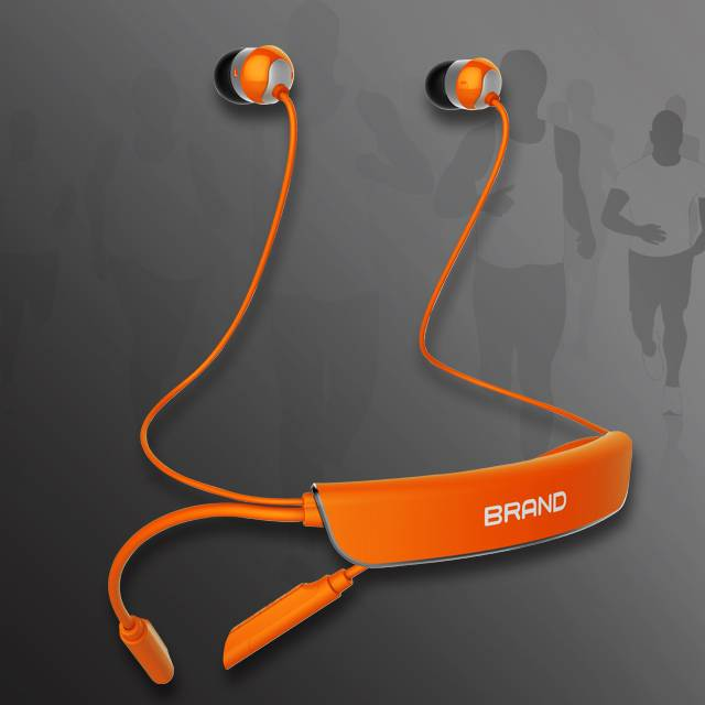 2015 New products private mould fashion stereo sport bluetooth earphone BT 4.0 factory wholesale