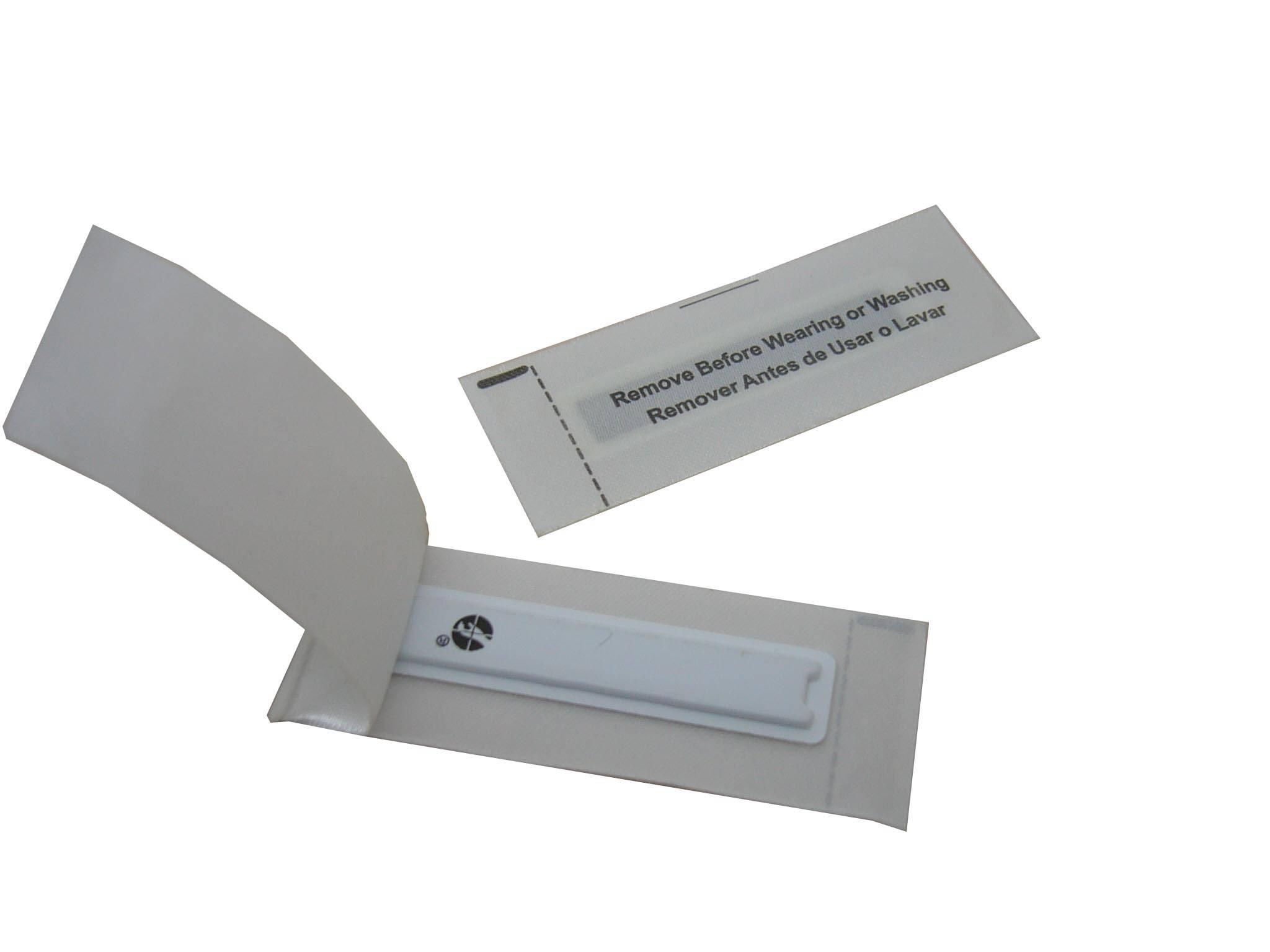 AM non-woven garment security tag