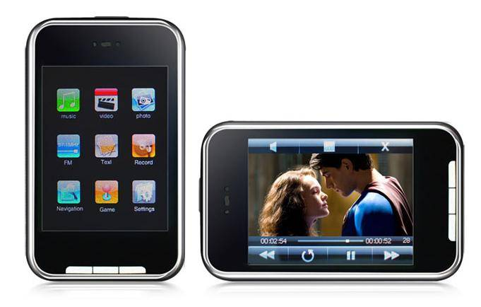 2.8 inch iphone touch screen with camera & sd card,portable media player,mp4 game player,mp5 player