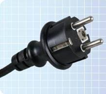 Germany And European Countries Certificated Power Cord Plug (YS-01A)