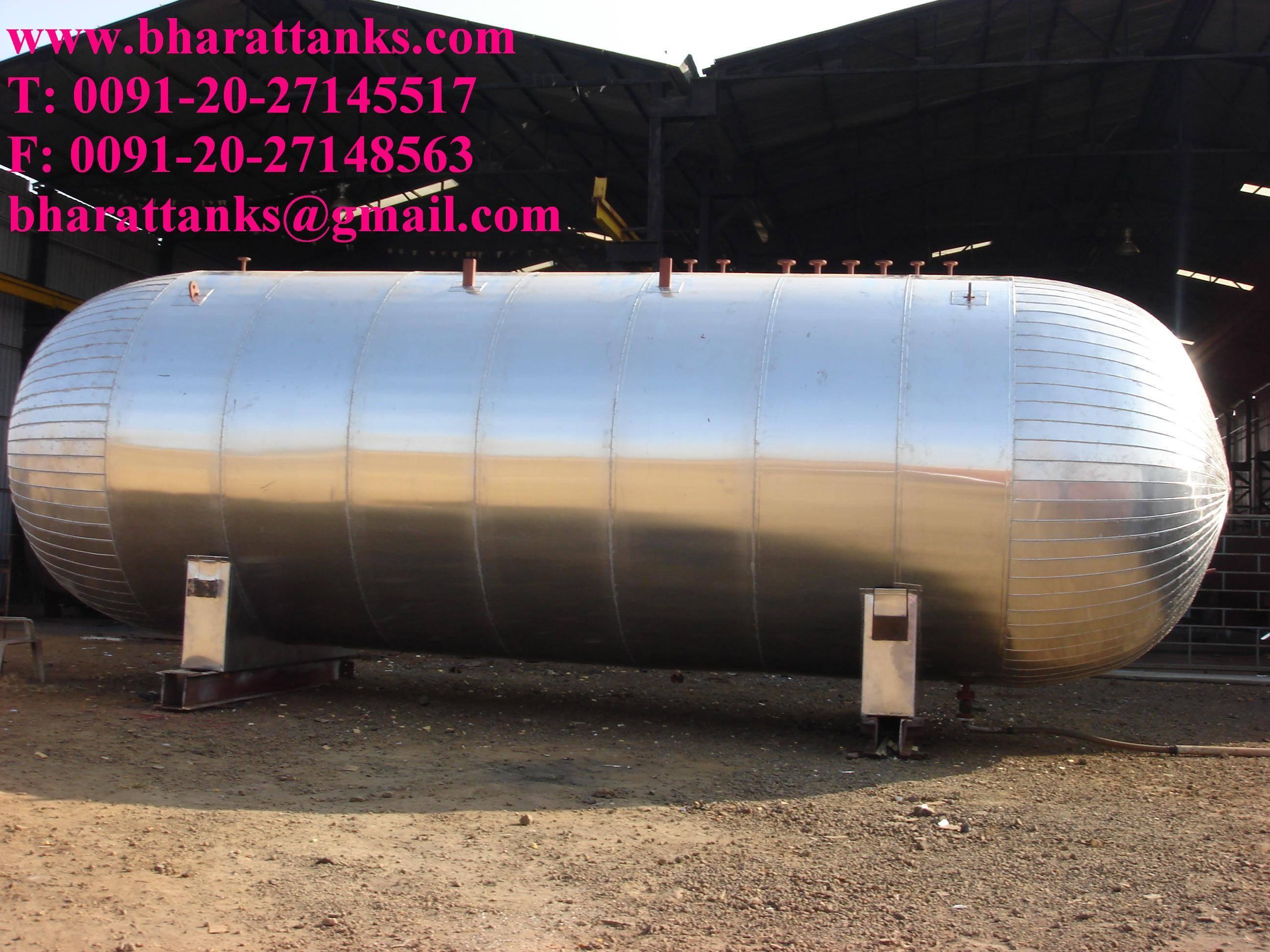 ethylene gas transport tanks