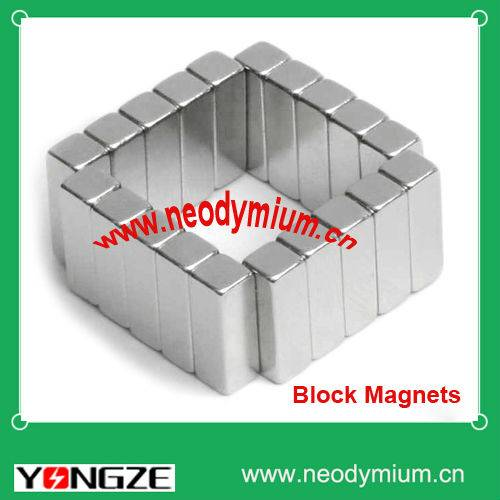 Sintered Neodymium magnetic blocks