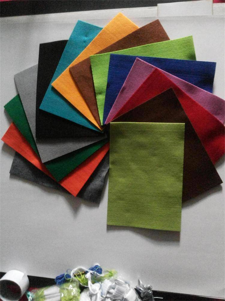colorful good quality non-woven felt