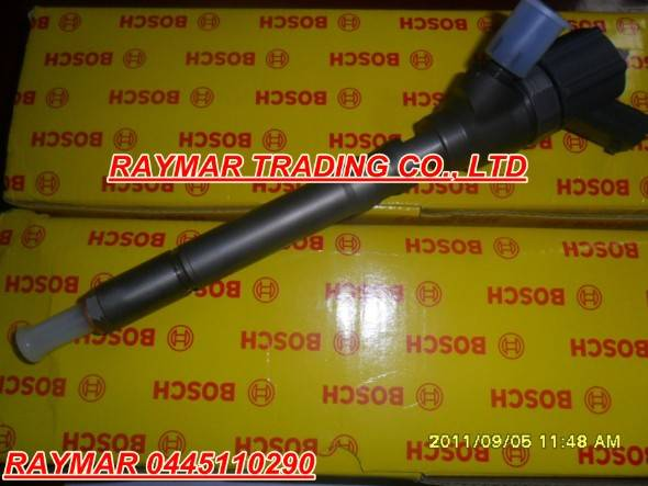 Bosch common rail injector 0445110290 for HYUNDAI 33800-27900 X Y Z