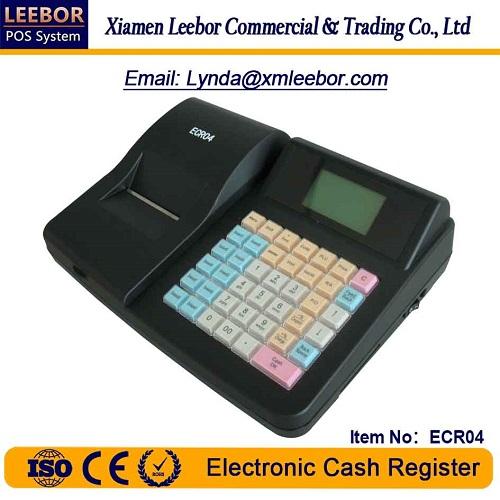Electronic Cash Register, Supermarket POS Terminal Cashier Equipment, Receipt/ Bill Printing ECR04