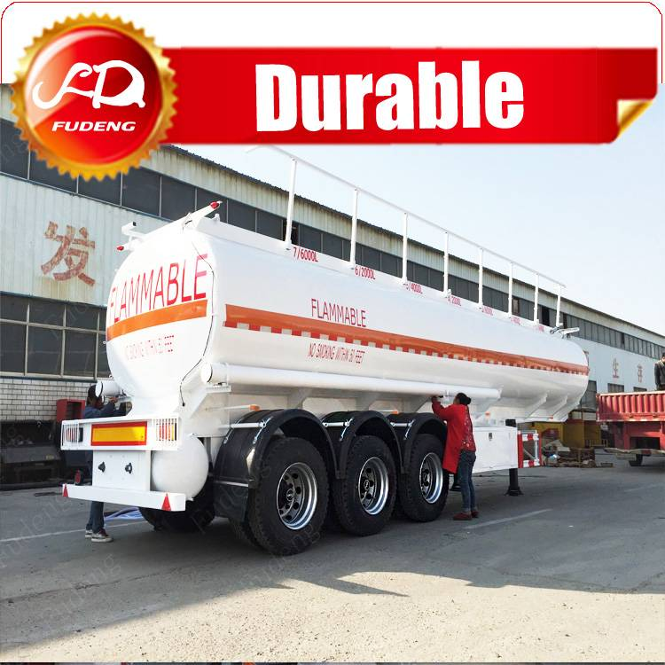 China ISO Truck and Trailer Dimensions for Fuel Oil Chemical Tanker