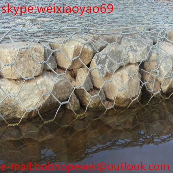 Stone Wall Mesh/Gabion box/Stone Cage