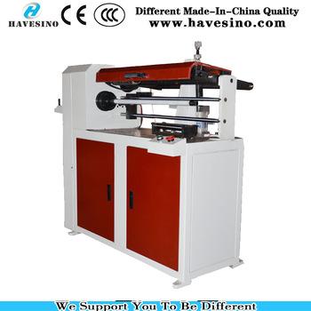 barcode ribbon paper tube cutting machine