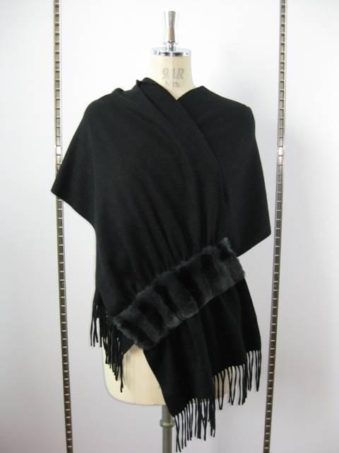cashmere shawl, cashmere scarves, Cashmere Scarves with Ottar Rabbit Fur