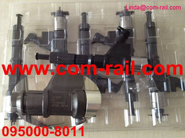 original denso common rail injector 095000-8011