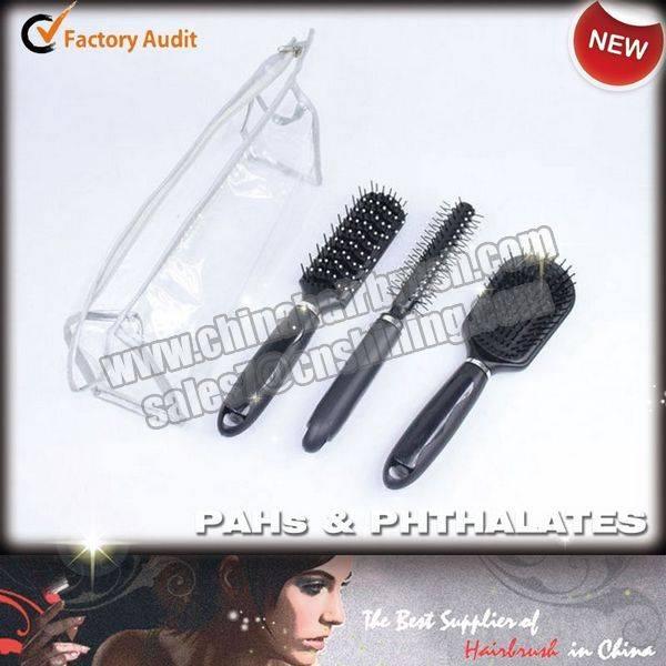 Plastic Hair Brush Set