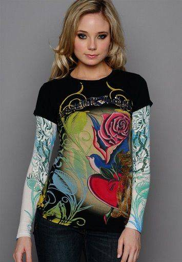 Christian Audigier shirts