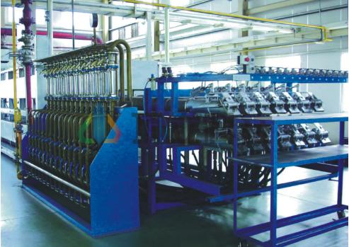 Multi-Tube Furnace for Metal Powder Reduction