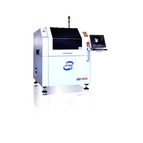High-precision stencil printer controlled by computer