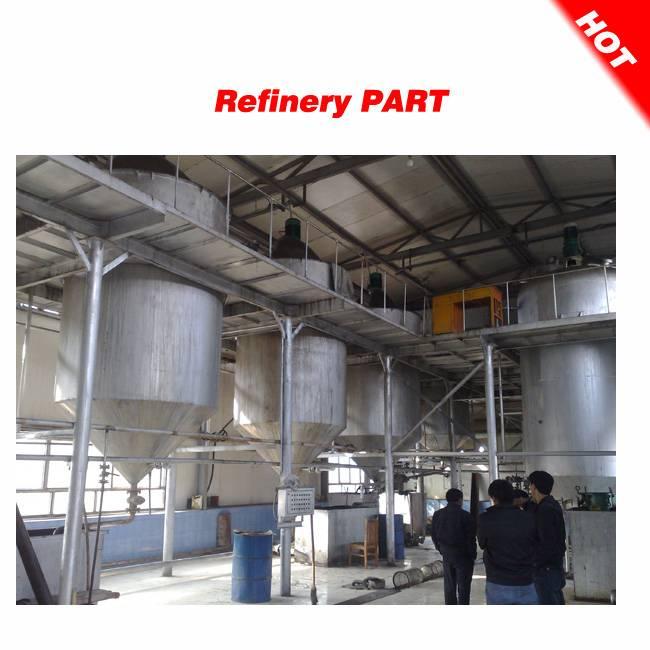 Semi-continuous crude oil refining machine