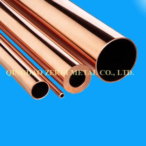 Straight Rigid Copper Tube for Radiator