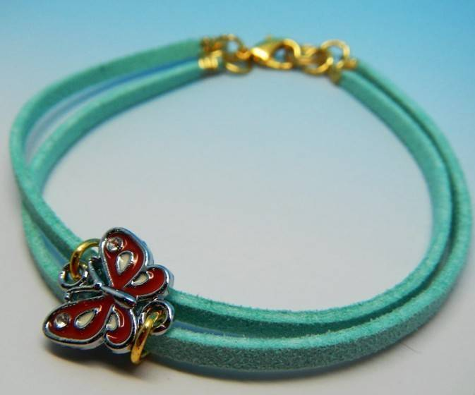 Korean velvet rope bracelets/wristband