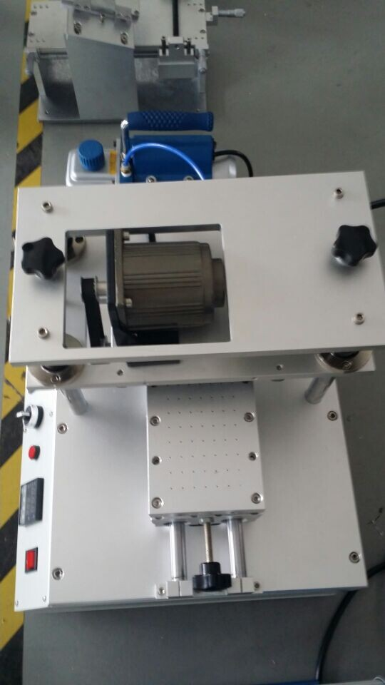 OCA glue eliminate machine with silicon roller