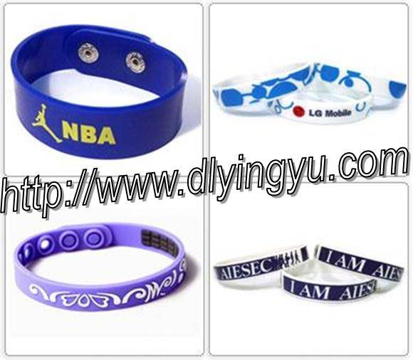 Sell silicone rubber bracelet,silicone wristband,rubber products