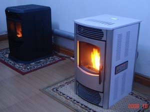 MS-Series Advanced Pellet Stove with Remote Control