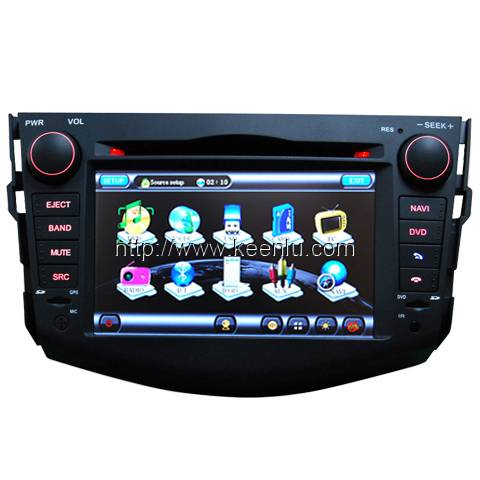 All-in-one Special Car DVD Player for Toyota New RAV4