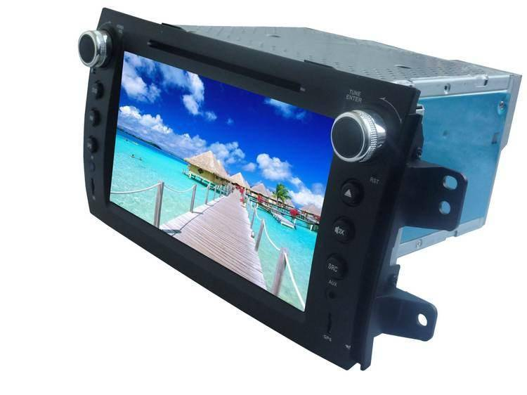 8.0 inch car GPS DVD player for Suzuki-SX4(Digital screen)