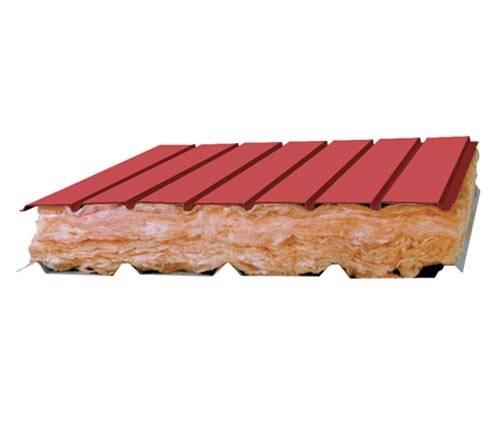 Glasswool/ Rockwool Insulation Sandwich Board