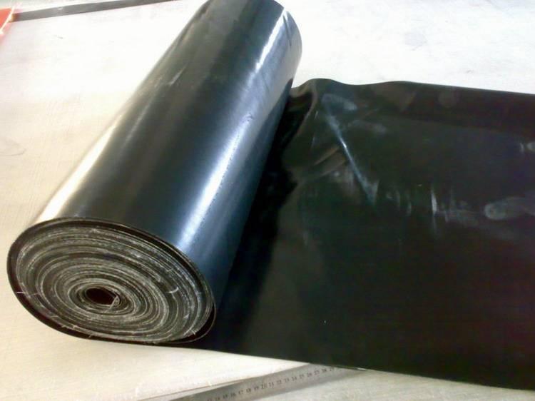 Black SBR rubber sheet, reclaimed rubber sheet for industrial seal