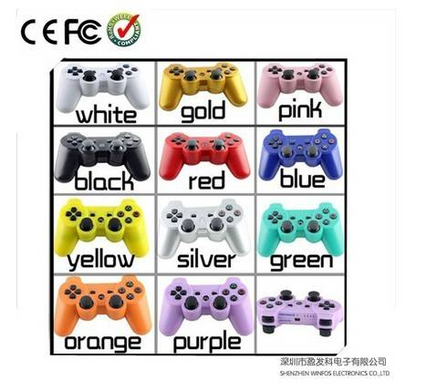 OEM Dual-Vibration Bluetooth Wireless Controller for PS3 Game Console Accessories