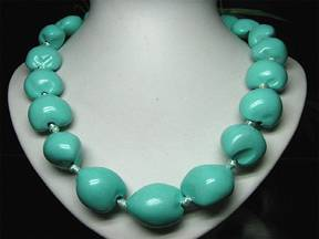 Kukui Nut Necklace - Painted, High Gloss