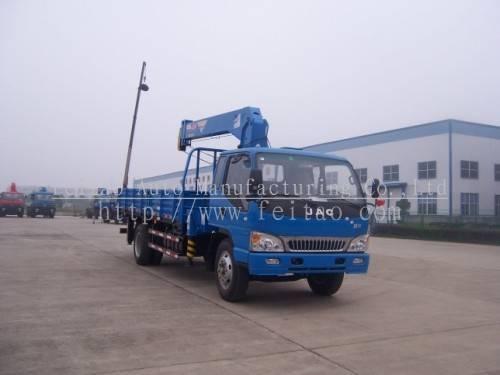 hydraulic small track mounted crane&mimi truck crane