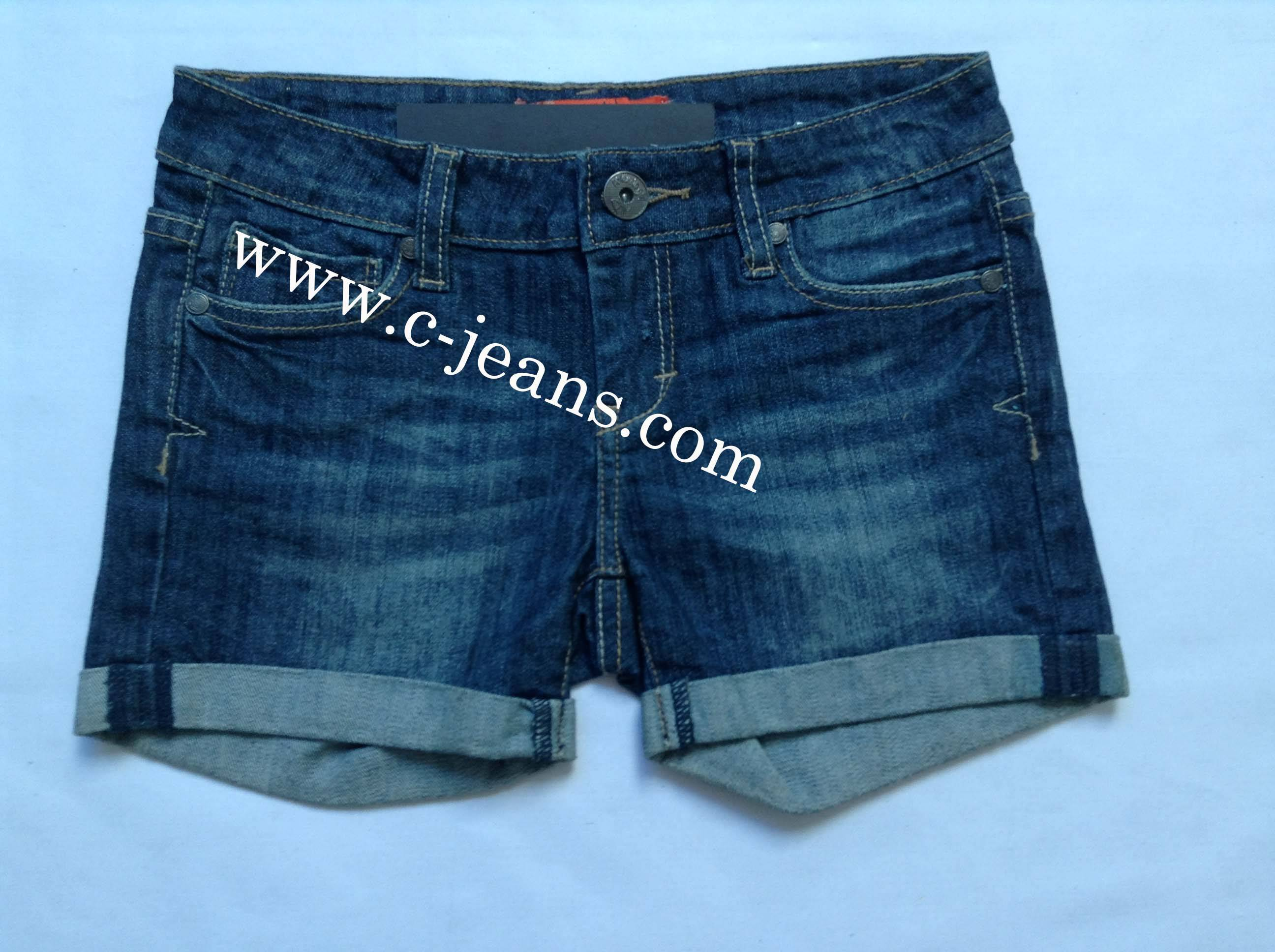 2014 Newly Design. Popular Lady's Jeans Pants Jeans Shorts