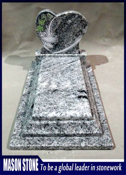 Line Engraving Patin Wiscount White Tombstone