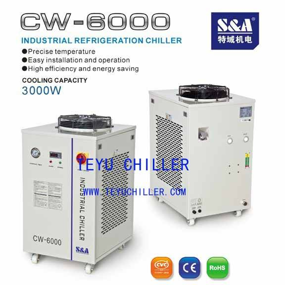 CW6000 RF metal laser tube Chiller CE\ROHS
