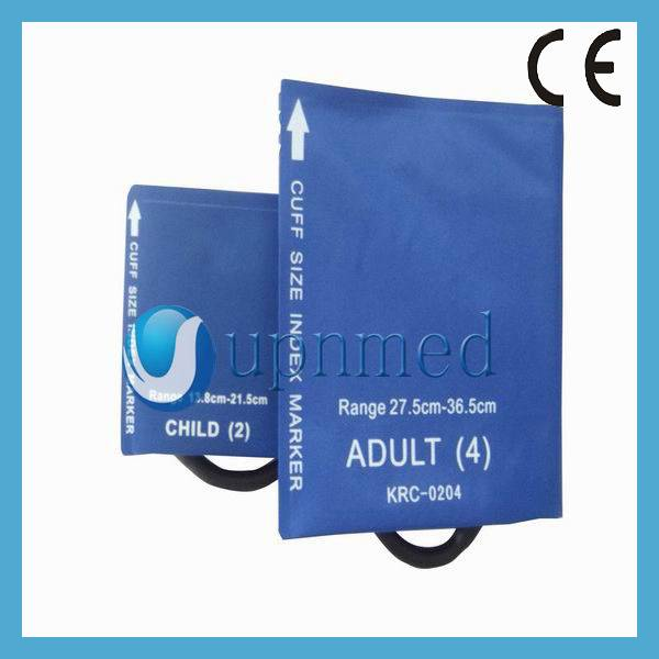 No-Bladder Adult Single/Dual Blood pressure cuff