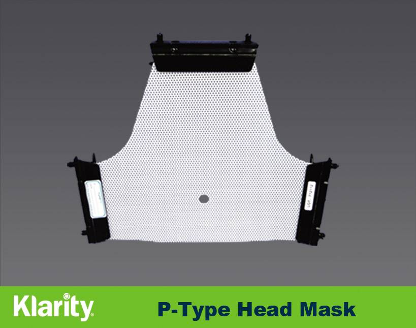 Sell Posicast masks with L-profiles Sinmed type thermoplastic masks