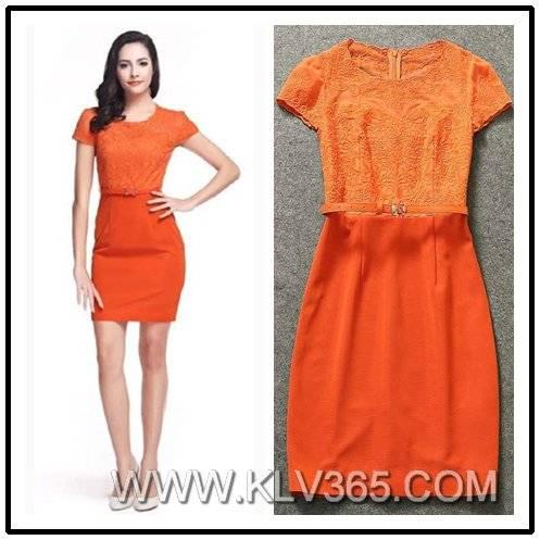 Ladies Fashion Career Formal Dress Wholesale