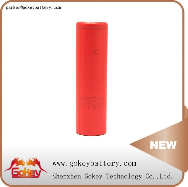 Sanyo ur18650zy 2600mah 3.7v li-ion 18650 best deep cycle battery