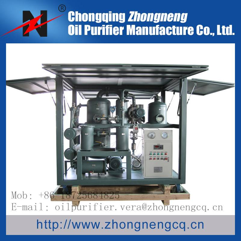 Double-Stage Vacuum Insulating Oil Regeneration/Oil Purifier Series ZYD-I