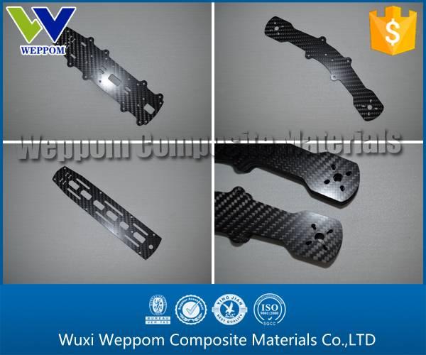 3K Matte/Twill Carbon Fiber CNC Parts