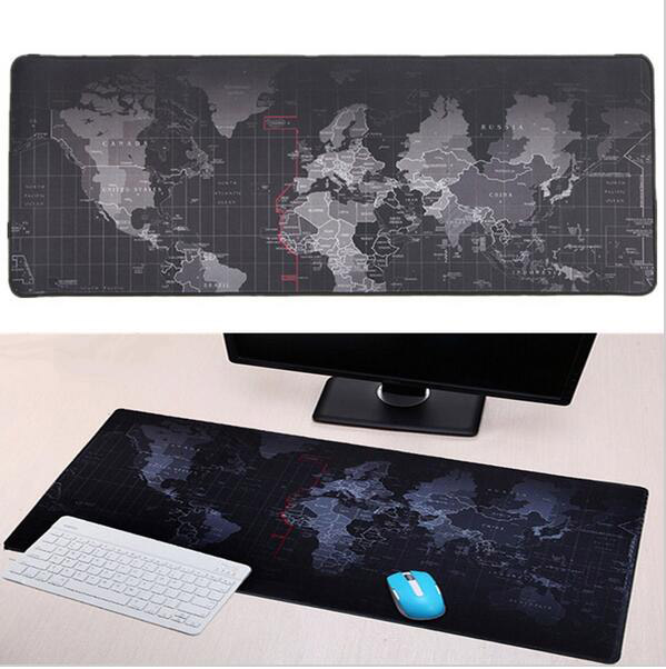 High Quality Spot Large Size The world Map Printed Gaming Mouse Pad