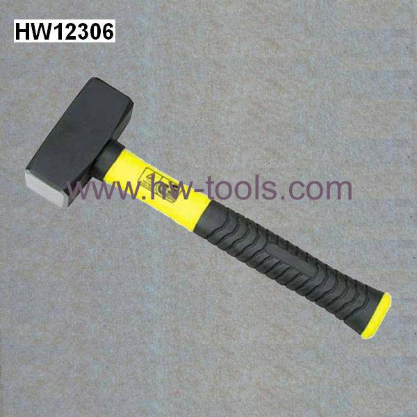 GS stoning hammer with fibreglass handle