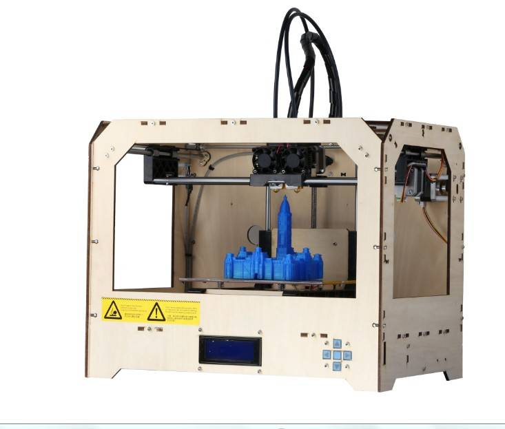 Dual Extruder Desktop 3D Printer, 3 D Printer, 3D Printer Machine