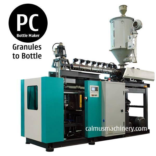 5 Gallons Polycarbonate Bottle Blow Molding PC Bottle Making Machine
